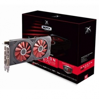 PLACA DE VIDEO AMD XFX RX 570 4GB OC+ DDR5 1284MHZ