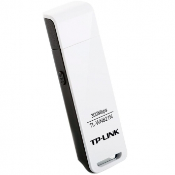 ADAPTADOR WIRELESS TP-LINK TL-WN821 USB 300MBPS