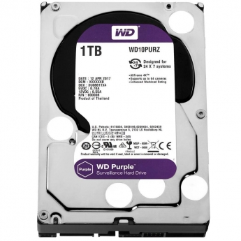 HARD DISK HD WESTERN DIGITAL PURPLE 1TB WD10PURZ