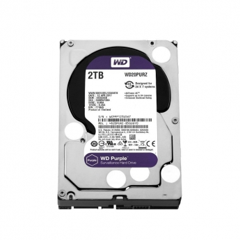 HARD DISK HD WESTERN DIGITAL PURPLE 2TB WD20PURZ