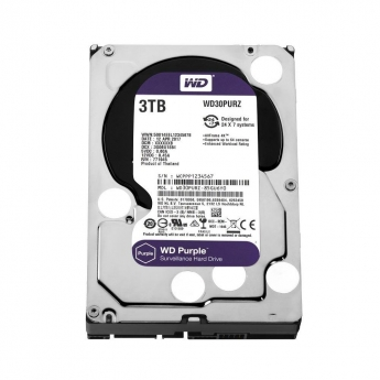 HARD DISK HD WESTERN DIGITAL PURPLE 3TB WD30PURZ