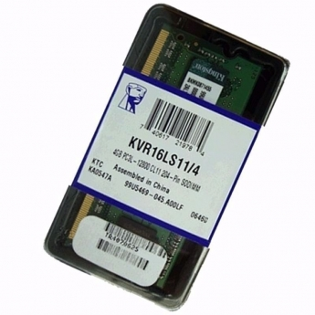 MEMORIA KINGSTON 4GB DDR3 1600MHZ LV NOTE