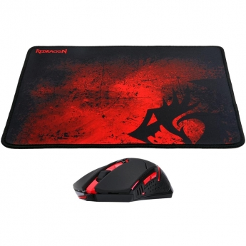 KIT GAMER REDRAGON MOUSE CENTROPHORUS + MOUSEPAD